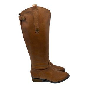 Sam Edelman Brown Penny Leather Riding Boots 6.5